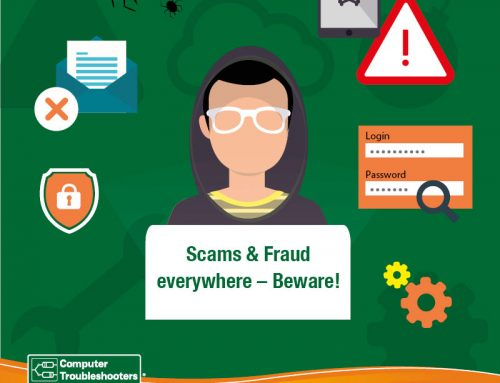 Scams & Fraud everywhere – Beware!